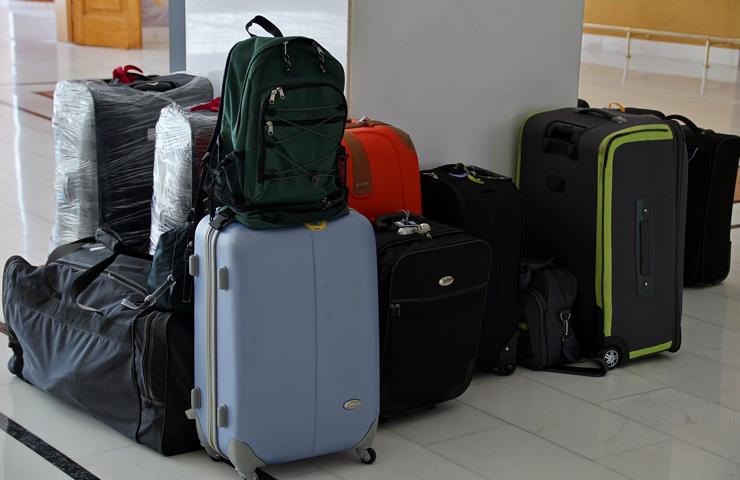 Med flere kufferter har du mere plads