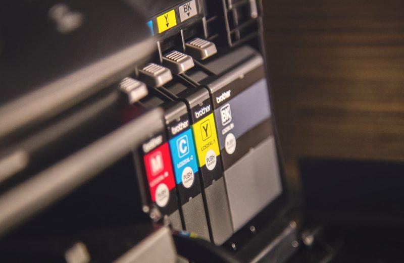 blækpatroner i printer