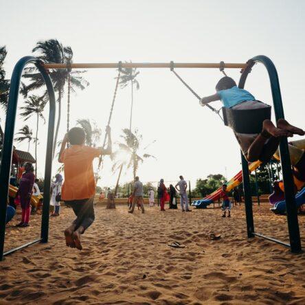 Få børnene til at lege udenfor – det er sundt